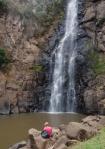 Dorsey at Lepis Falls